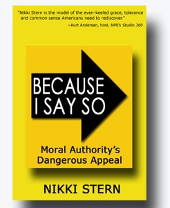 Because I Say So book cover