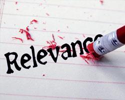 erasing relevance